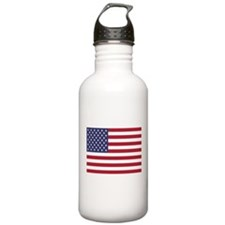 United States Of America Flag Water Bottle