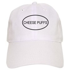 CHEESE PUFFS (oval) Baseball Cap