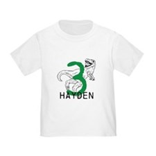 Dinosaur Third Birthday T-Shirt