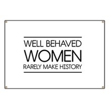 Well behaved women 2 Banner
