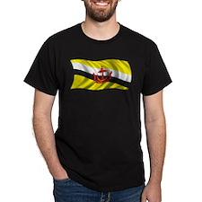 Wavy Brunei Flag T-Shirt