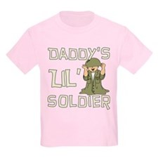 Daddy's Lil' Soldier T-Shirt