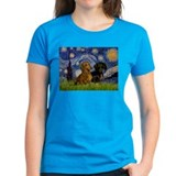 Starry Night & Dachshund Pair Tee