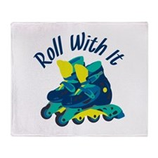 Roll With It Throw Blanket