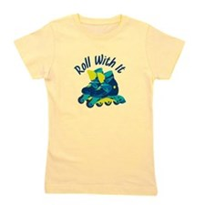 Roll With It Girl's Tee