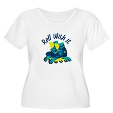 Roll With It Plus Size T-Shirt
