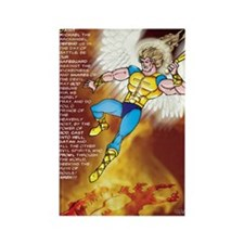 Prayer of ST. Michael Rectangle Magnet