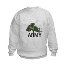 Army Helicopter Sweatshirt