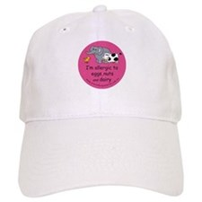 Eggs nuts & dairy-pink Baseball Cap