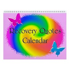 Rainbow Recovery Wall Calendar