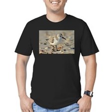 Sand Piper and Seashells T-Shirt