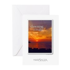 Dawning of Day CDArt Greeting Cards (Pk of 10)