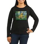Bridge & Golden Women's Long Sleeve Dark T-Shirt