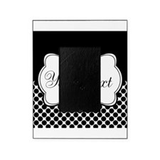 Personalizable Black and White Picture Frame
