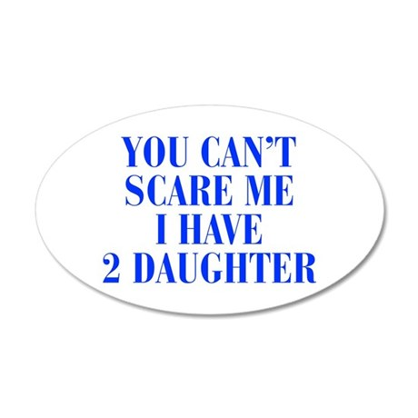 2-daughters-BOD-BLUE Wall Decal