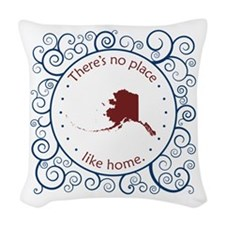 Alaska Woven Throw Pillow
