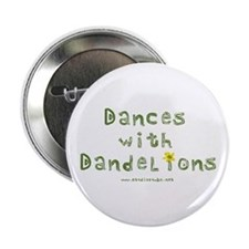 "Dandelion Dancer Gardener 2.25"" Button (10 pack)"
