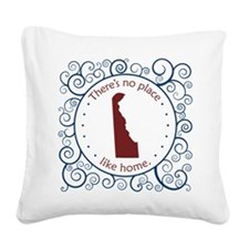 Delaware Square Canvas Pillow