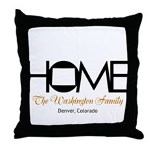 Colorado Home Throw Pillow