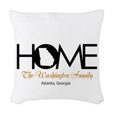 Georgia Home Woven Throw Pillow