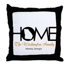 Georgia Home Throw Pillow