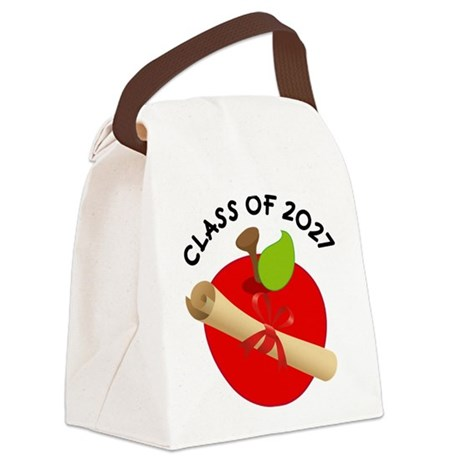 Class of 2027 Canvas Lunch Bag