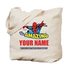 The Amazing Spider-man Personalized Desig Tote Bag
