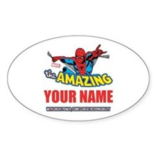 The Amazing Spider-man Personalized Decal