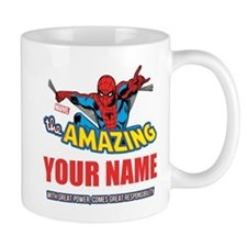 The Amazing Spider-man Personalized Des Mug