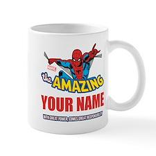 The Amazing Spider-man Personalized Des Mug