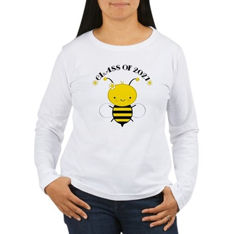 Class of 2027 bee Women's Long Sleeve T-Shirt