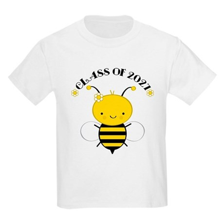 Class of 2027 bee Kids Light T-Shirt