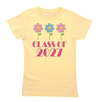2027 daisy border.png Girl's Tee