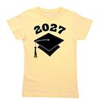 2027 School Class Graduation Girl's Tee
