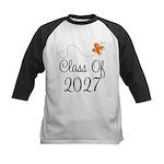 Class of 2027 Orange Butterfly Baseball Jersey