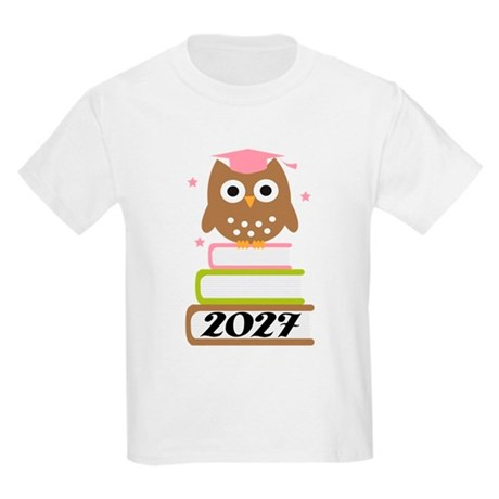 2027 owl on books.png T-Shirt