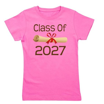 2027 diploma.png Girl's Tee