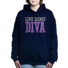 Line Dance DIVA Women's Hooded Sweatshirt