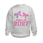 2027 butterflies class.png Sweatshirt