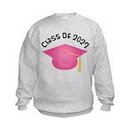 2027 pink hat.png Sweatshirt