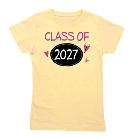 Class of 2027 Butterfly Girl's Tee