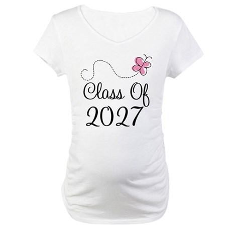 Class of 2027 Maternity T-Shirt