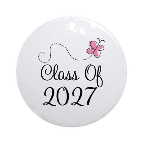 Class of 2027 Ornament (Round)