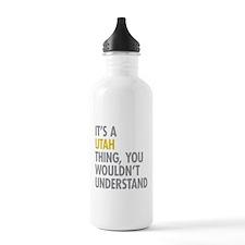 Its A Utah Thing Water Bottle