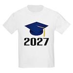 Class of 2027 Grad Kids Light T-Shirt
