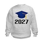 Class of 2027 Grad Kids Sweatshirt