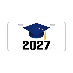 Class of 2027 Grad Aluminum License Plate