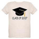 Class of 2027 Grad Organic Kids T-Shirt