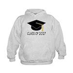 Class of 2027 Grad Kids Hoodie