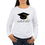 Class of 2027 Grad Women's Long Sleeve T-Shirt